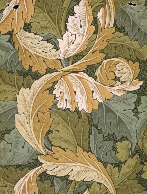 William Morris. Interlaced leaves II