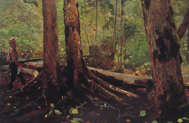 Winslow Homer. Adirondack