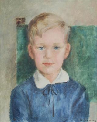 Dorothea Tunning. Portrait Of Gunnar Tanning