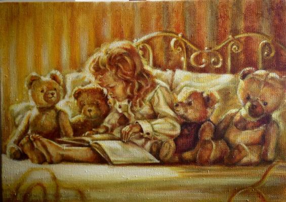 Irina Georgievna Gartenko. Masha and the bears
