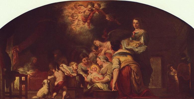 Бартоломе Эстебан Мурильо. Рождение Марии