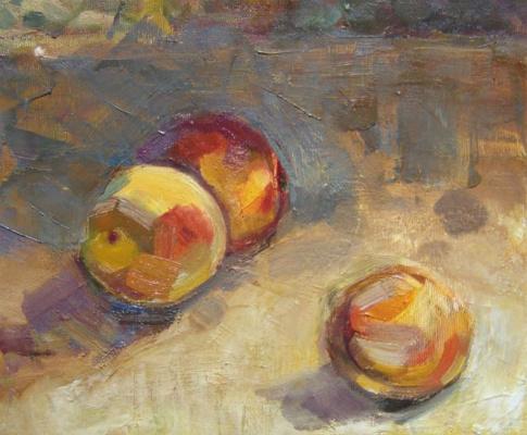 Ксения Хидаева. Персики