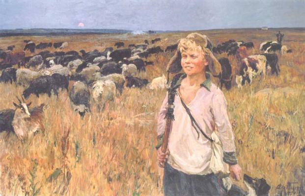 Arkady Alexandrovich Plastov. Victor-shepherd boy