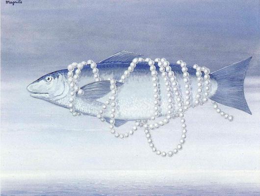 René Magritte. A tribute to Alphonse Allais