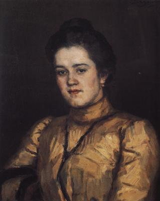 Vasily Ivanovich Surikov. Portrait A. I. Yemelyanova
