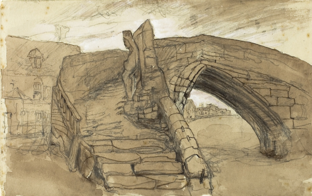 John Ruskin. Bridge in Kroyne