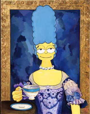 FREAKING HOT ART. Marie Simpson - Antoinette
