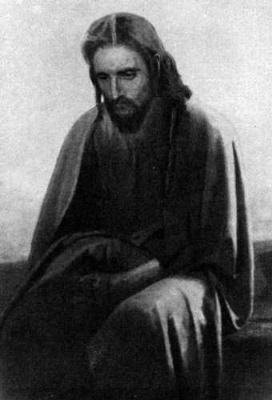 Иван Николаевич Крамской. Христос в пустыне (первый вариант картины)