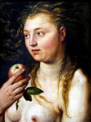 Хендрик Гольциус. Ева. 1613