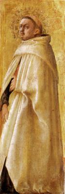 Tommaso Masaccio. Saint Carmelite (beardless)