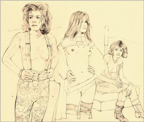 Крис Фосс. Три девушки