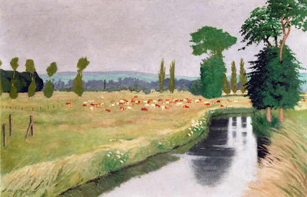 Felix Vallotton. River
