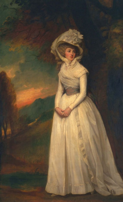 George Romney. Penelope (Ricroft) Lee Acton