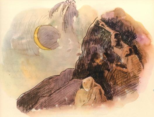 Поль Гоген. Акварель из Альбома Ноа-Ноа 11