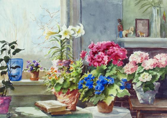 Olga Alexandrovna Romanova. Room in Kusile.