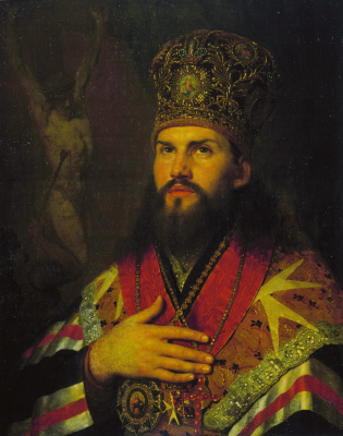 Vladimir Lukich Borovikovsky. Portrait Of Mikhail Desnitsky