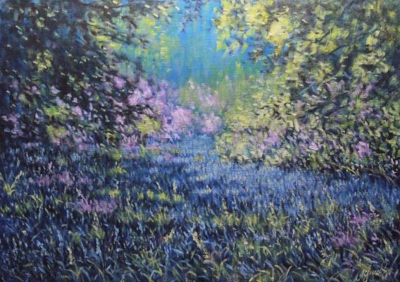 Valery Levchenko. No. 309 Forest glade