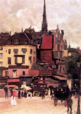 Ян Слёйтерс. Париж
