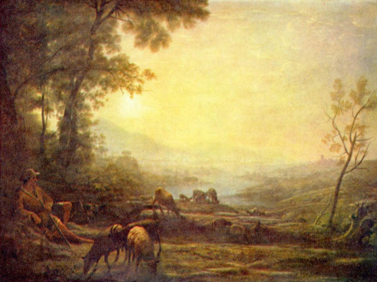 Claude Lorrain. Shepherd