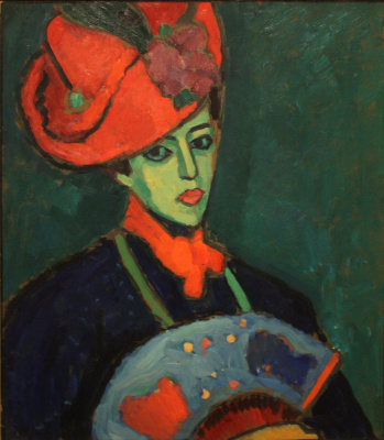 Alexey Georgievich Yavlensky. Shokko in a red hat