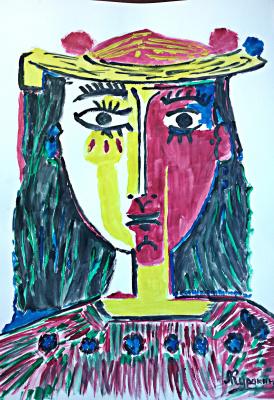 Андрей Куракин. Портрет по Пикассо