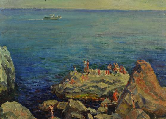 Валерий Иванович Ярош. Black Sea