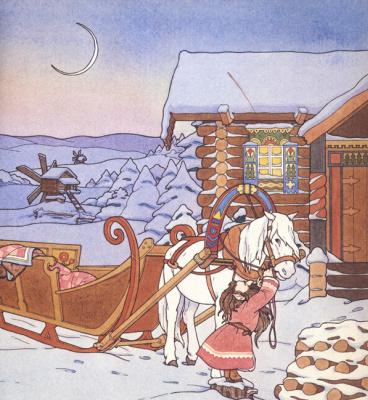 Алисия Остин. Белая лошадь