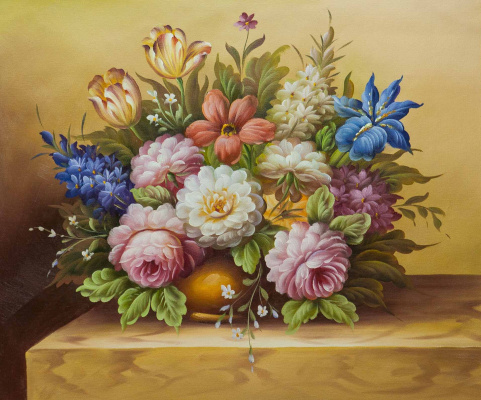 Maria Potapova. Baroque bouquet N11
