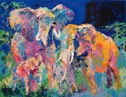 Лерой Нейман. Слоновья семья
