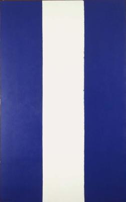 Barnett Newman. The light profile