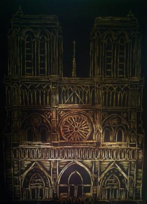 Zina Vladimirovna Parisva. Notre Dame de Paris