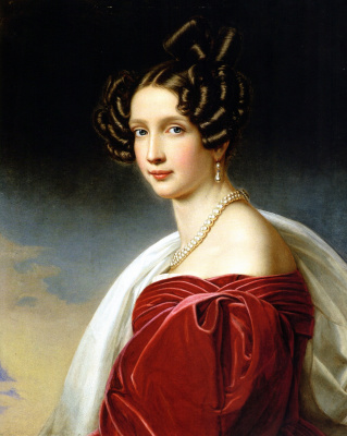 Josef Karl Styler. Sofia, Archduke of Austria, nee Princess of Bavaria