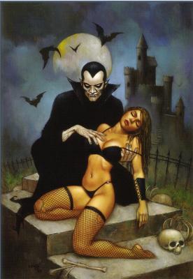 Скотт Льюис. Вампир