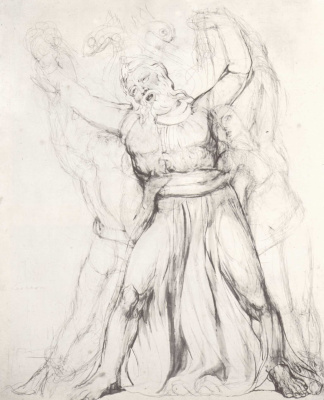 William Blake. Laocoon