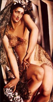 Tamara Lempicka. Portrait of Nana de Herrera