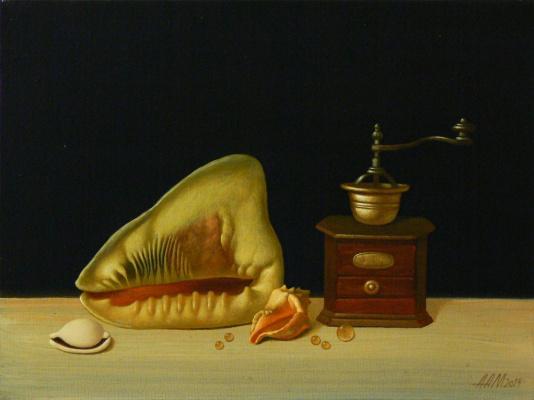 Alexander Melnikov. Still life. 2013