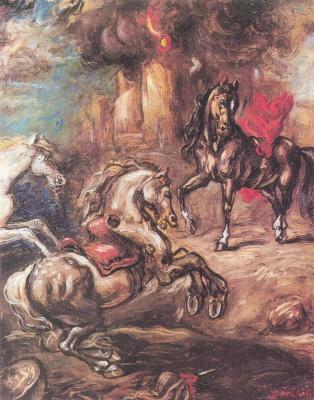 Джорджо де Кирико. Сражение