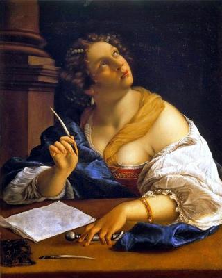 Артемизия Джентилески. Аллегория риторики. около 1650