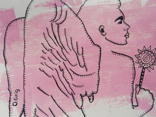 Olga Grig. Angel