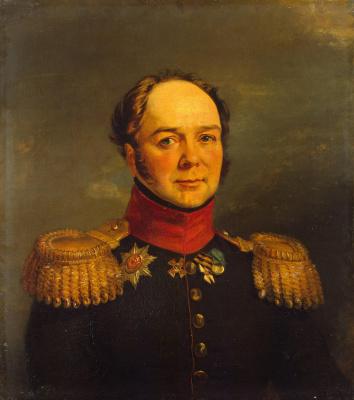 George Dow. Portrait Of Pavel N. Ushakov