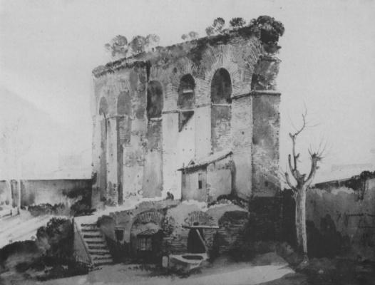Франсуа-Мариюс Гране. Руины акведука в окрестностях Рима