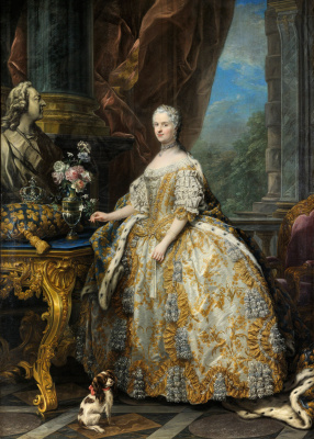 Шарль Андре ван Лоо. Мария Лещинская, королева Франции