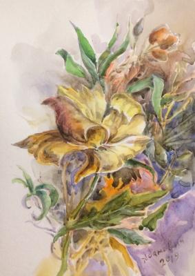 Виктор Орестович Адамович. Watercolor3