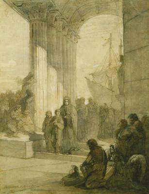 Валериан Степанович Крюков. Агриппина возвращается в Рим с прахом Германика