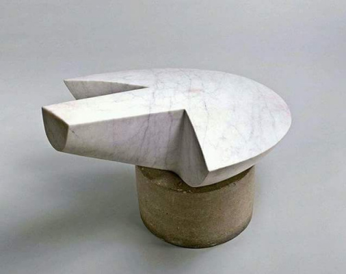 Constantine Brancusi. The flying turtle.