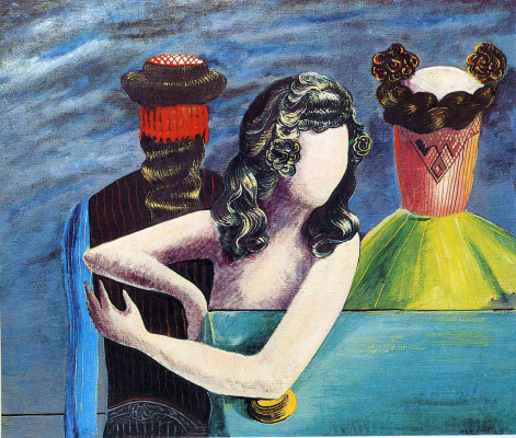 Max Ernst. Sunday guests