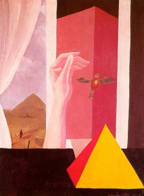 René Magritte. Window
