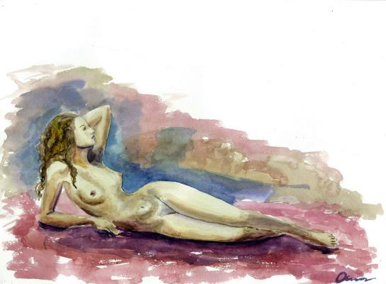 Ekaterina Viktorovna Osipovich. Nude