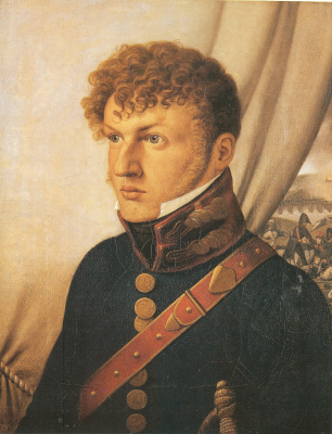 Johann Friedrich Overbeck. Portrait of the doctor Johann Christian Jeremiah Martini