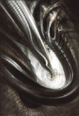 Hans Rudolph Giger. Biomechanical landscape